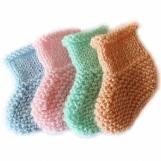 Chaussons laine pour bébé