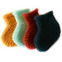 Idée cadeau de naissance: Les chaussons