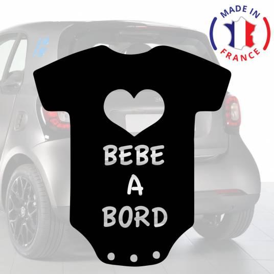 Anakiss Sticker b/éb/é /à bord pour voiture The Walking Dad 15 cm Blanc