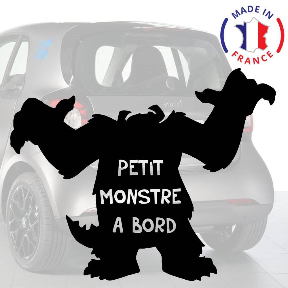 Petit Monstre à Bord Voiture Signe nouveau bébé//enfant-Cadeau//Présent